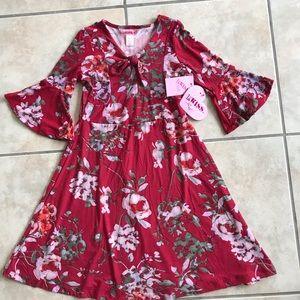 8aaf6d8745cc 1st Kiss Knit girls dress